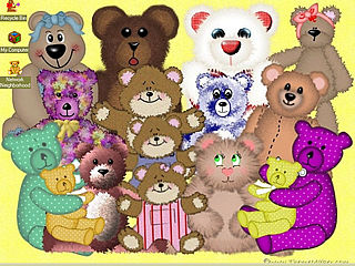download Teddy Assortment Screensaver