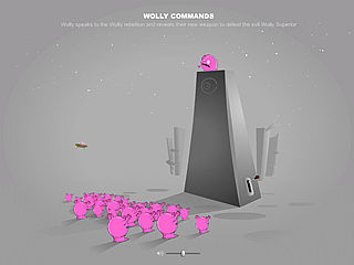 download Wolly Commands Screensaver