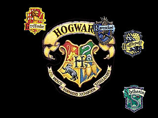 download Four Houses Of Hogwarts Screensaver