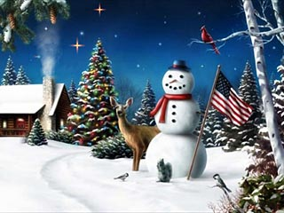 download Free American Snowman Screensaver
