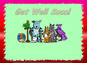 download Get Well Soon Screensaver