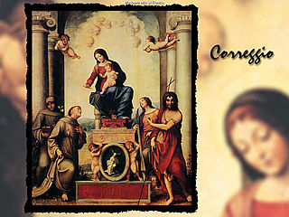download Great Artist: Correggio v2.0 Screensaver
