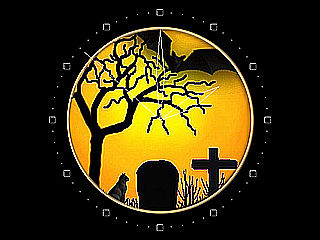 download Halloween (Spooky Halloween Clock) Screensaver