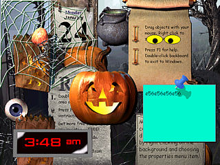 download Halloween 2000 MyCorkboard Screensaver