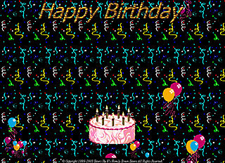 download Happy Birthday vS Screensaver