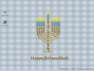 download Happy Hanukah Screensaver