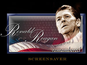 download President Reagan Remembered Screensaver