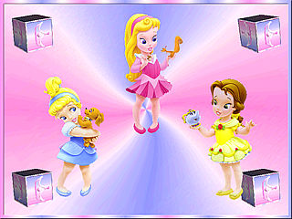download Princess Babies Screensaver