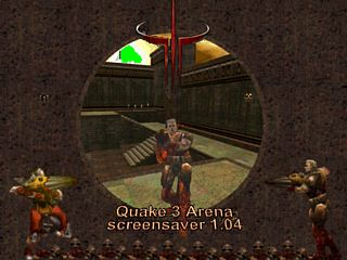 download Quake 3 Arena Screensaver