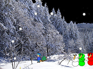 download Christmas (Walking In A Winter Wonderland) Scr.