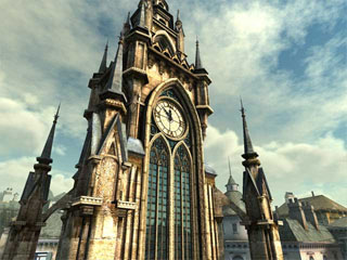 download Clock Tower 3D Screensaver