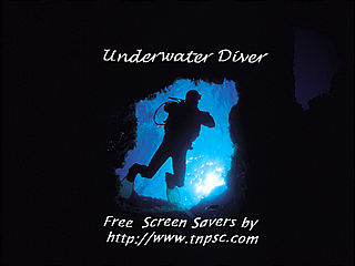 download Underwater Diver Screensaver
