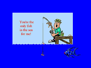 download Valentine (Romantic Fisherman v104) Screensaver