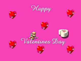 download Valentine (Valentine Day) Screensaver