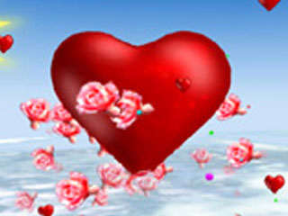 download Valentine's Day 3D Screensaver