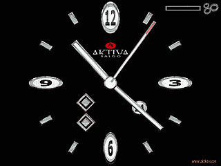 download Aktiva-s Silver Time Screensaver