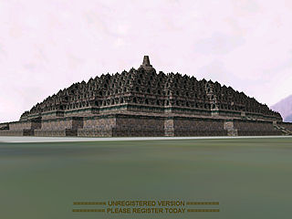 download 3D Live Borobudur Screensaver