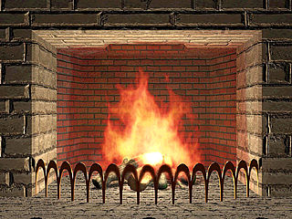 download 3D Living Fireplace Screensaver