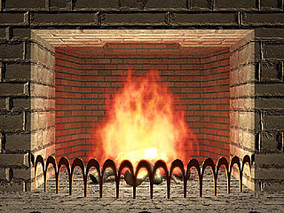 download 3D Living Fireplace Screensaver from Freeze.com