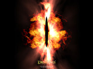 download 3D Lord Of The Rings:  Eye Of Sauron Screensaver