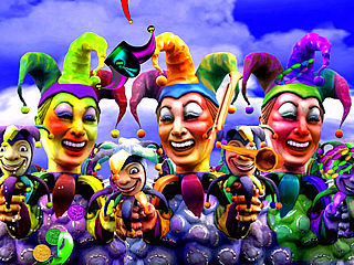 download 3D Mardi Gras:  Throw Me Something Mister Screensaver