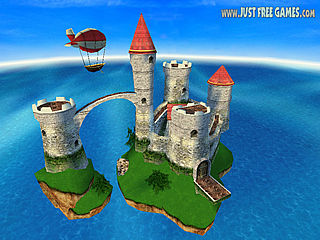 download 3D Sea Castle Screensaver
