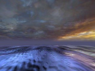 download 3D Sea Storm 3D Screensaver