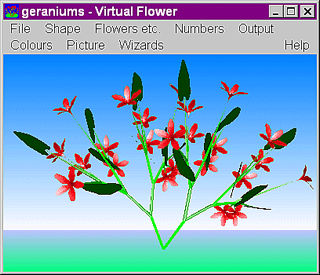 download 3D Vitual Flowers Screensaver