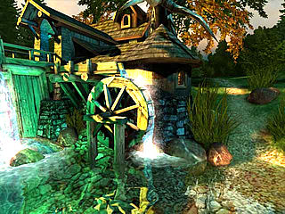 download 3D Watermill v1.0 Screensaver