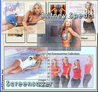 download Britney Spears v1.3 Screensaver