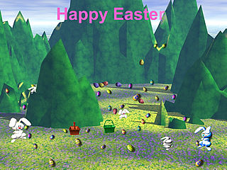 download Easter (Easter Bunny Island) Screensaver