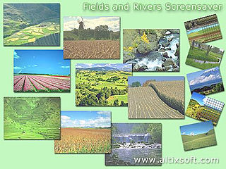 download Fields and Rivers Screensaver