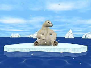 download 3D Arctic Bear Advanced Screensaver