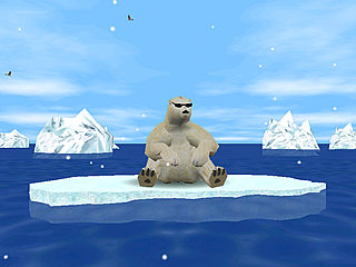 download 3D Artic Bear v1.4 Screensaver