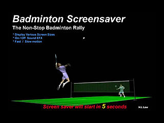 download 3D Badminton Screensaver