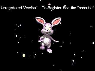 download Funny Bunny Screensaver