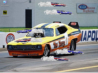 download Funny Car Screensaver