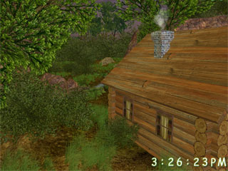 download Green Valley 3D Screensaver