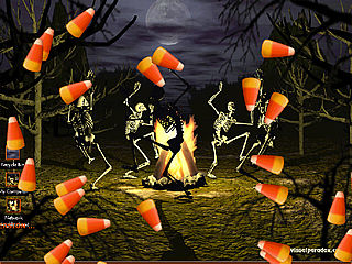 download Halloween (Bone Dance) Screensaver