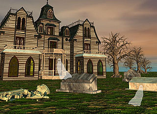 download Halloween (Deserted Cemetery v1.0) Screensaver