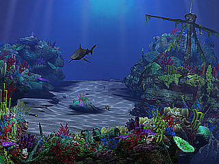 download Sharks, Terrors Of The Deep v0.9 Screensaver