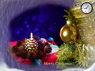download Christmas (DVMerry Christmas) Screensaver