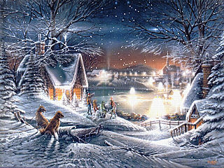 download Christmas (Evening Star) Screensaver