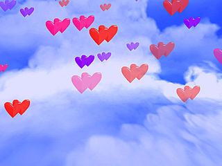 download Valentine (3D Hearts And Flowers) Screensaver