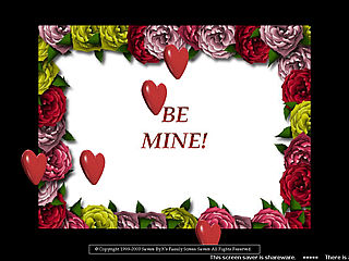 download Valentine (Be Mine v104) Screensaver