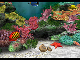 download Aquarium 3D Screensaver