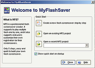 download My Flash Saver v2.01