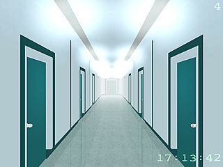 download 3D Matrix:  The Endless Corridor Screensaver