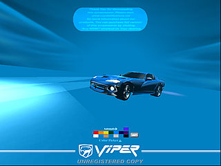 download 3D Night Viper v1.1 Screensaver