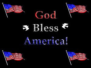 download 4th Of July (God Bless America) Screensaver